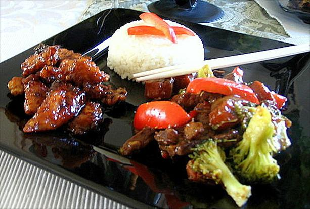 Beef and Peppers...a Taste of the Orient!