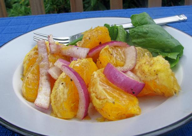 Orange 'n' Red Onion Salad