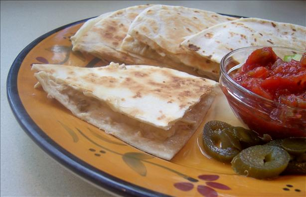 Grilled Chipotle-Chicken Quesadillas
