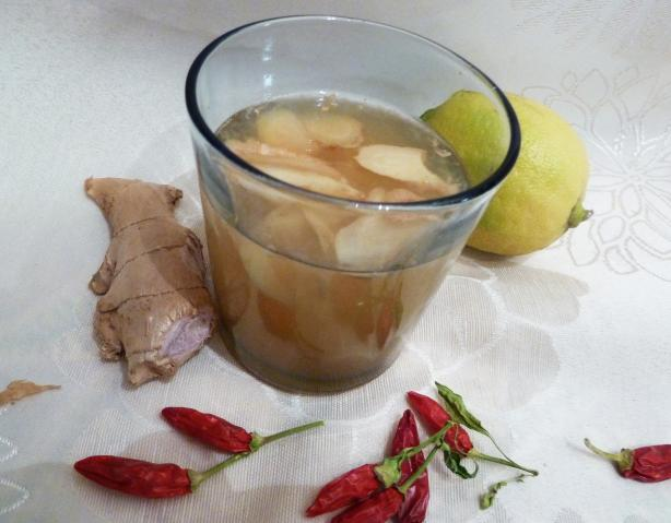 Lemon-Ginger Cayenne Tea