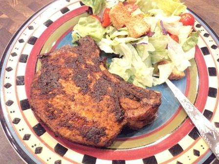 Ww Spicy Chili Cumin Broiled Pork Chops