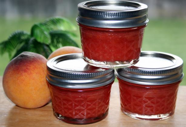 Strawberry & Peach Jam