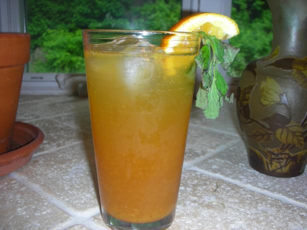 Agave-Sweetened Orange Tea