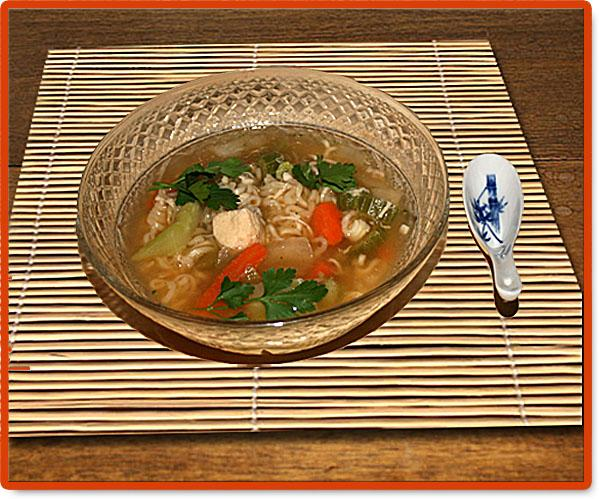 Chinese-Style Chicken Noodle Soup