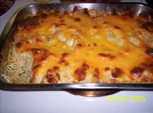 Deb's Chicken Tetrazzini