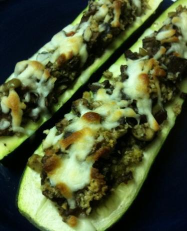 Round 2 - Stuffed Zucchini Boats