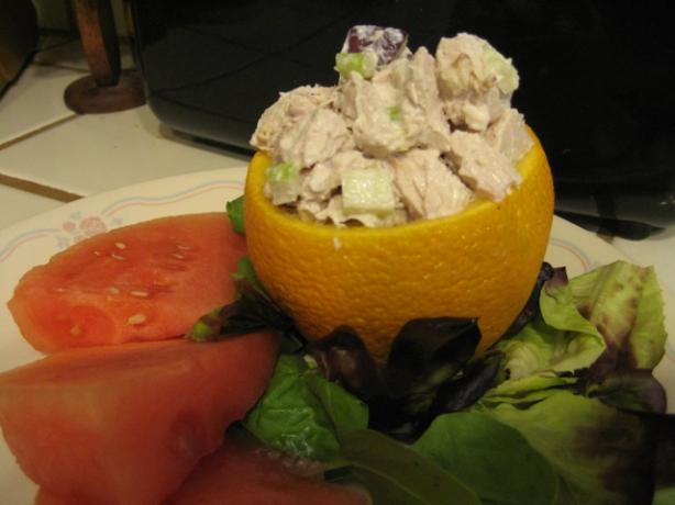 Chicken Salad With Apples & Walnuts