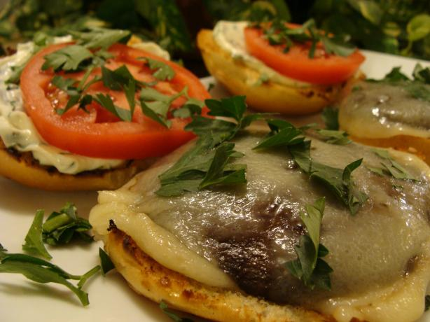 Grilled Portabella Mushroom Burgers - a La Dave