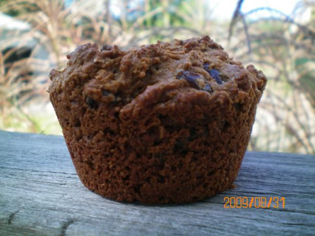 Bran Flax Seed Cranberry Muffins
