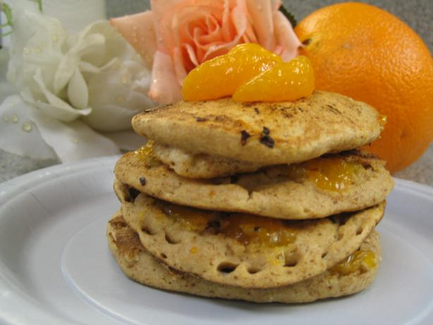Quick & Easy Mandarin Orange Pancakes for One