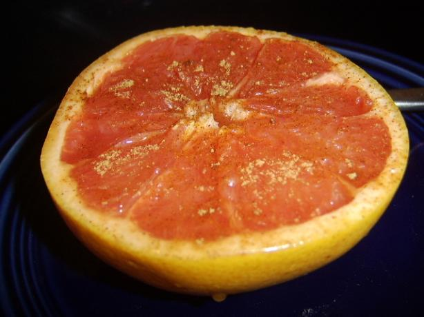 Spiced Grapefruit