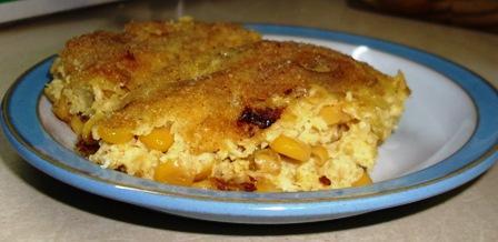 Bolo Di Mahishi -- Corn Pudding (Curacao -- Caribbean)