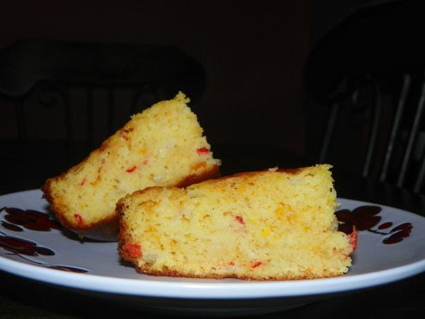 Caribbean Creamed Corn, Cornbread