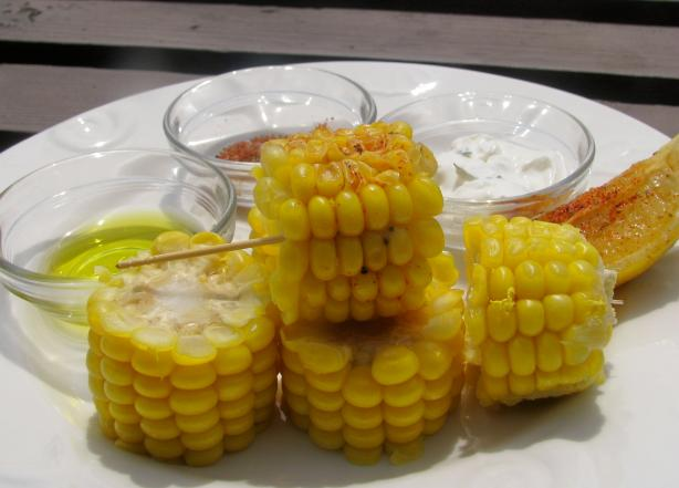 Smokin' Hot Caribbean Spiced Corn on the Cob