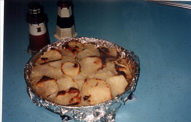Tomato, Leek and Potato Bake
