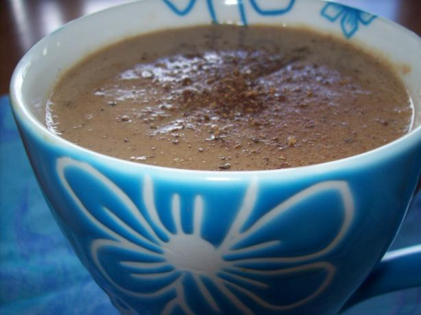 Champurrado With Honey (Mexican Hot Chocolate)