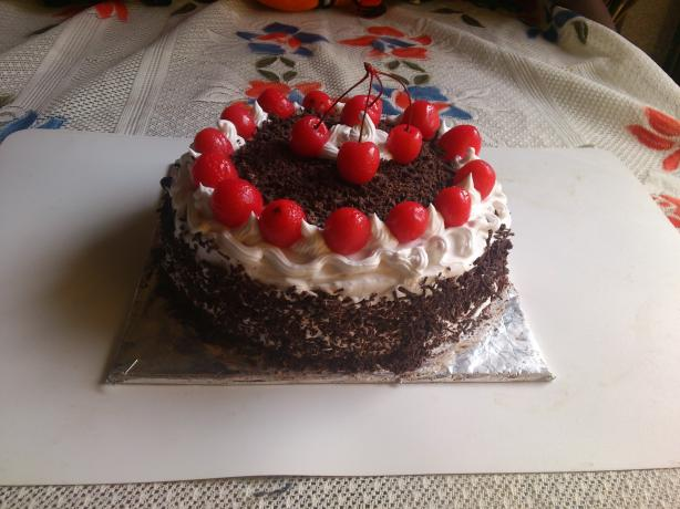 So Easy Black Forest Cake
