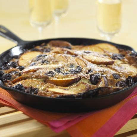 Puffed Oven Pancake With Summer Fruit