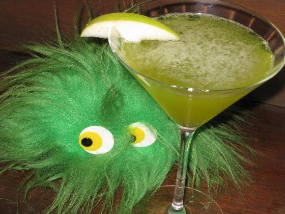 Midori Green Apple Martini