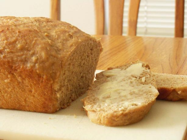 Vermont Whole Wheat Oatmeal Honey Bread