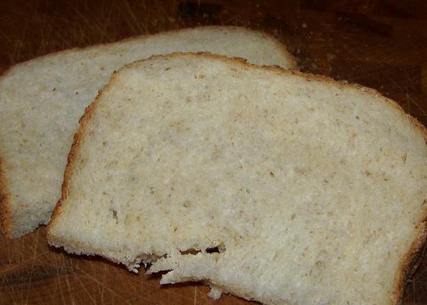 Oatmeal Honey Bread--(Bread Machine)