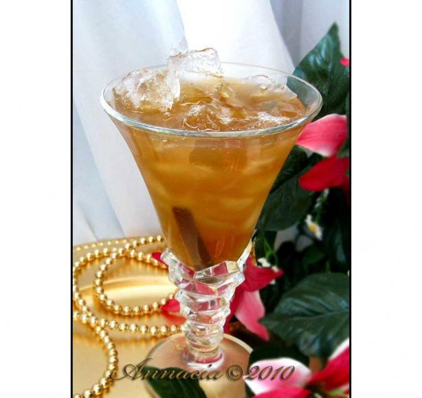 Green Jasmine and Rose Tea, Iced
