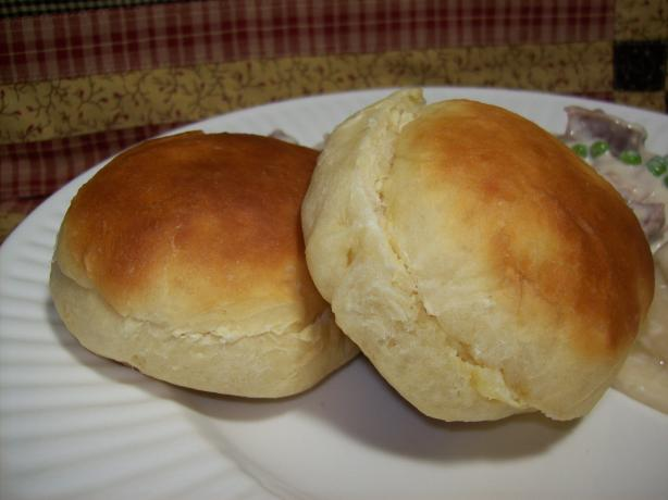 Rich Bread Machine Dinner Rolls