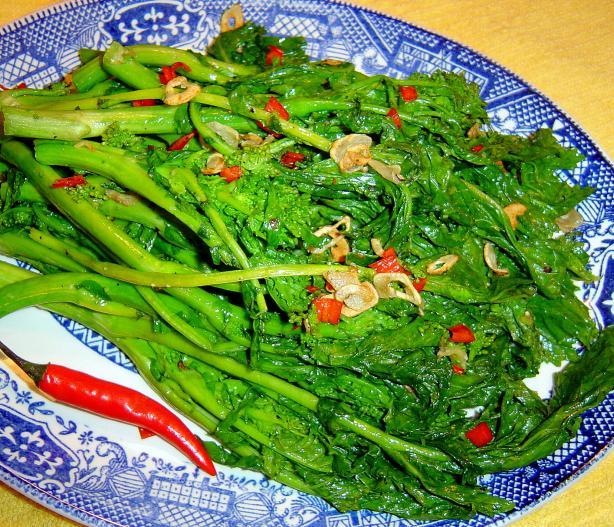 Chilli & Garlic Broccolini