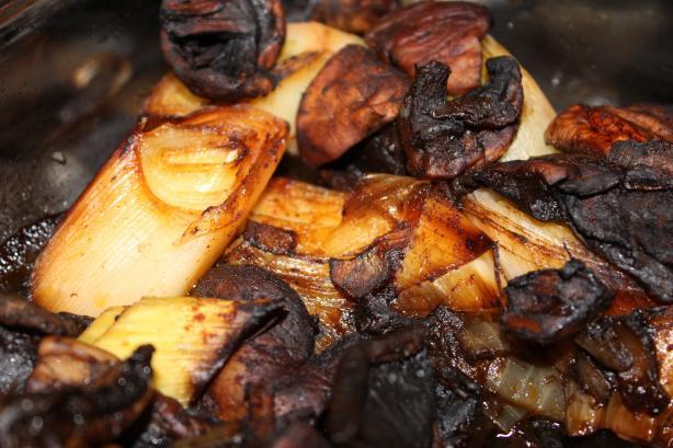 Vegetarian Albanian Leek Casserole (Tave Me Presh)