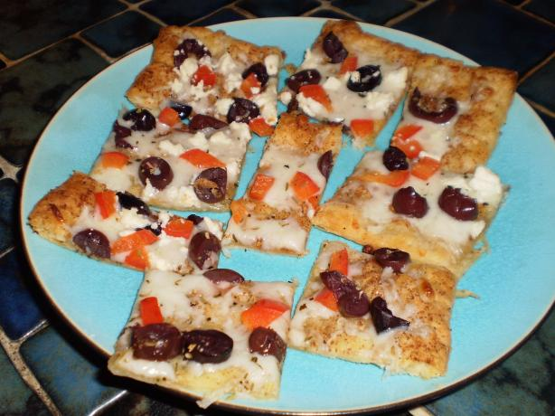 White Pizza Appetizers (Puff Pastry)