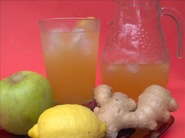 Ginger-Cider Lemonade