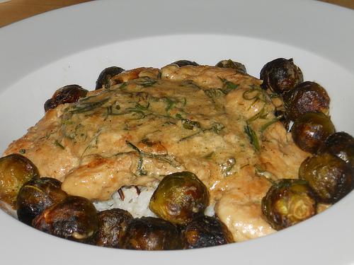 Chicken in Marsala & Dill Sauce