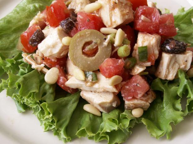 Chicken Raisin Salad