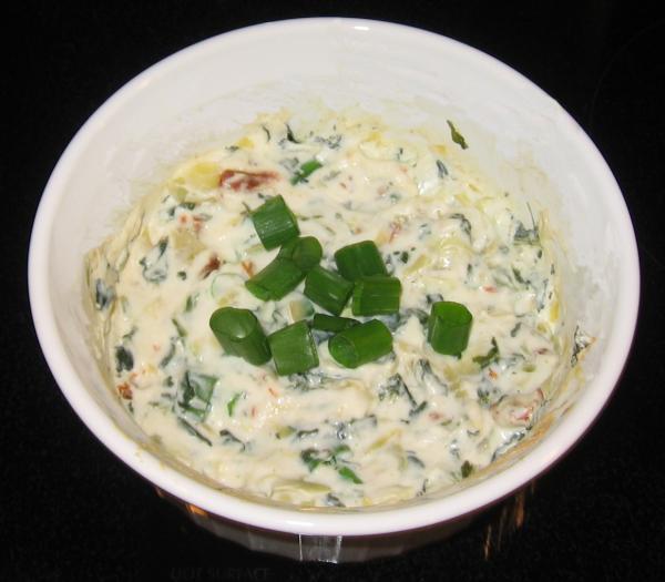 Skinny Spinach Artichoke Dip
