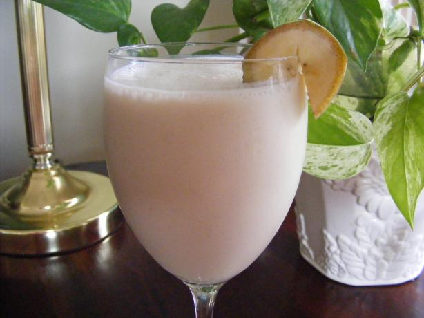 Low Fat Banana Cream Smoothie