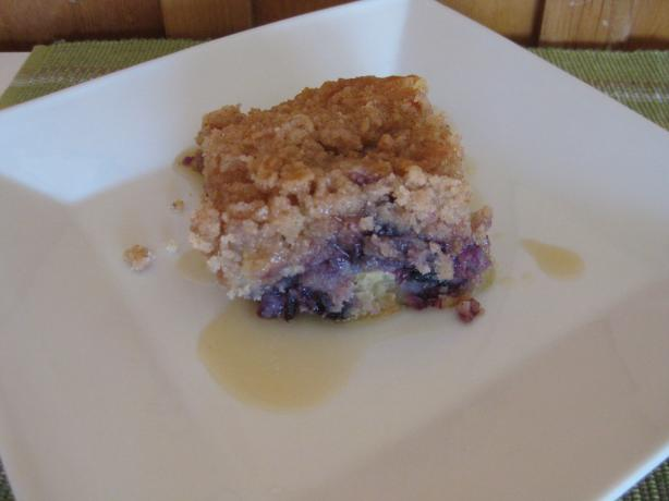 Blueberry Pineapple Buckle