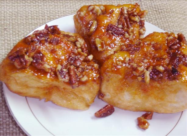 Easy Caramel Pecan Rolls