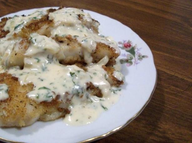 Smoked Cod in Parsley Sauce