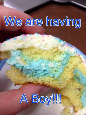 Best Gender Reveal Cupcakes Ever!