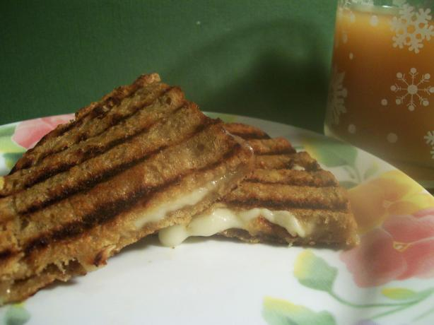 Grilled Cheese & Honey Panini Recipe