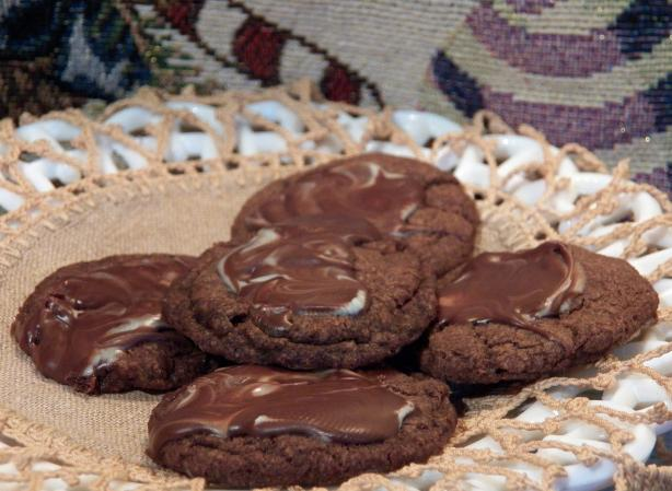 Minty Chocolate Crisps (Cookies)