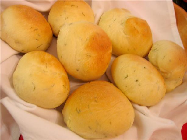 Bread Machine Butter Rolls