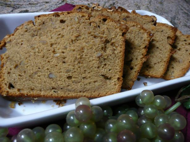 Spiced Coffee Nut Loaf