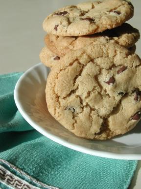 Gluten Free Chocolate Chip Cookies (Gluten, Egg, Dairy Free)