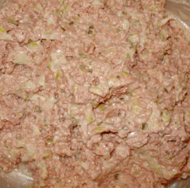 Ham (Bologna) Salad