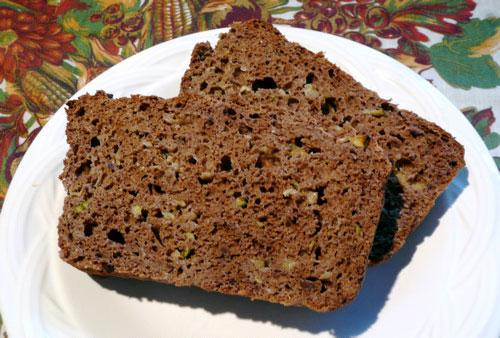 Simple Chocolate Zucchini Bread