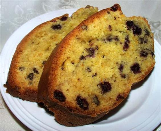 Blueberry-Orange Nut Bread