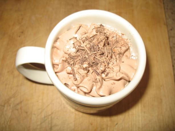 Molten Chocolate Hot Milk Drink