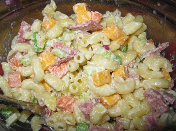 Macaroni-Ham Salad