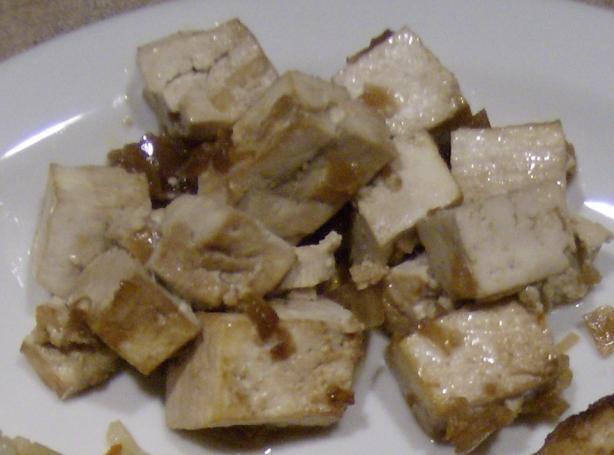 Asian Style Savory Baked Tofu